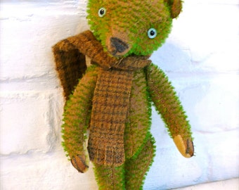 instant download E-pattern, (PDF) to make a bear like Peter Green