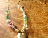 blooming love necklace