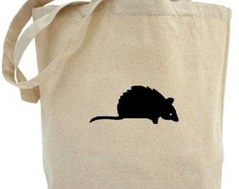 Mouse Tote - Cotton Canvas Tote Bag