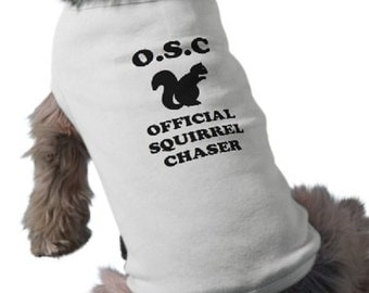 Squirrel - Dog Tee - Graphic Tee