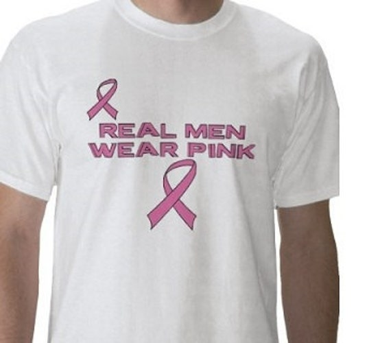 Breast Cancer Awareness - Graphic Tee - Mens - Short Sleeve Cotton Tee