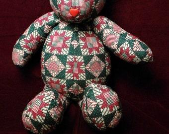 Teddy Bear Quilt Style