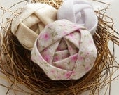 Fabric Flowers Tutorial Soft Roses pattern - PDF easy beginner ebook - DIY how to make flowers accessory Rosettes
