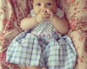 Pattern Dress  Tutorial Baby Girl - S,M,L  - girl baby shower gift - spring  baby dress PDF summer - Instant DOWNLOAD