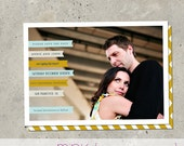 """save the date photo card - """"Banner Announcement"""""""