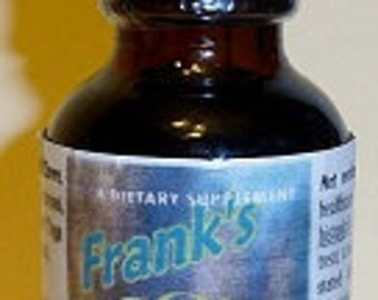 World Famous Frank's Toothache Tincture   1oz bottle with dropper