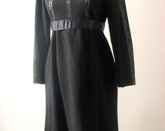 Vintage 1960s  Rare Chester Weinberg Dolly Mod Dress