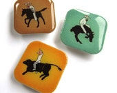 Charros (Mexican Cowboys) Magnets - Set of 3