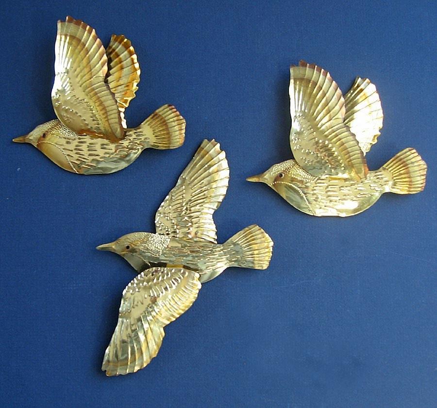 Flying Birds Vintage W...