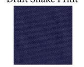 Door Draft Snakes, Door Draft Stopper - Solid Navy Blue