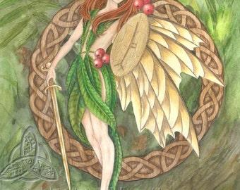 Rowan Tree Fairy Limited Edition Print