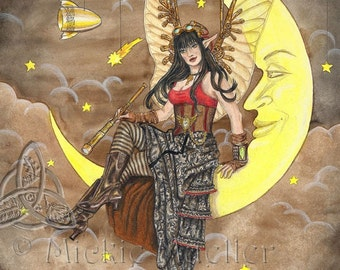 Steampunk Fairy Open Edition Print