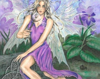 The Violet Fairy Open Edition Print