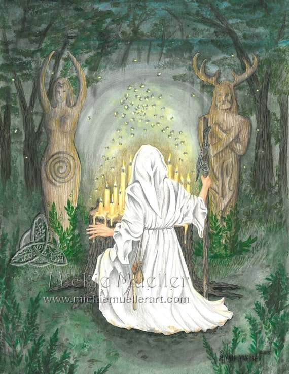 Wisdom in the Woods Open Edition Print
