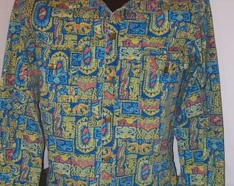 Funky Men's 60s 70s  Jacket - SHANHOUSE  Weather Winners  - Size Medium