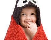 PERSONALIZED Ladybug Hooded Towel