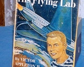 Tom Swift Jr and His Flying Lab, 1954, by Victor Appleton II