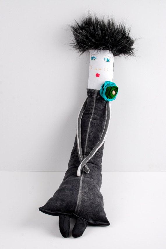 Fabric / Cloth Handmade Soft Sculpture Doll