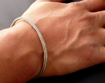 Braided Wire Bracelet - Made to Order