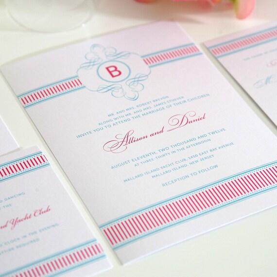 French Vintage Wedding Invitations: Preppy Wedding Invitation Vintage French By ShineInvitations