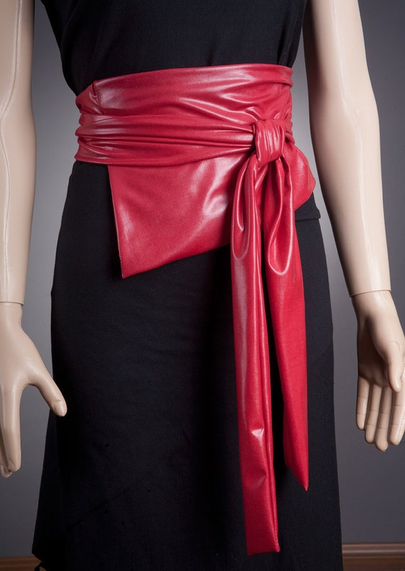 IMPRESSIVE RED Wide Belt / Corset Look 3 COLORS