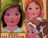 E-Z Sweetest Toddlers 1920s FELT Cloche Hat e-pattern - 3 Styles