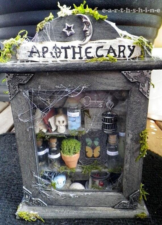 Fairy Apothecary Diorama Shadowbox