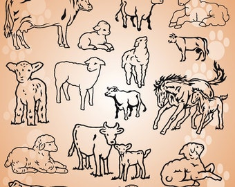 Animals Vol. 3B Vector Clipart