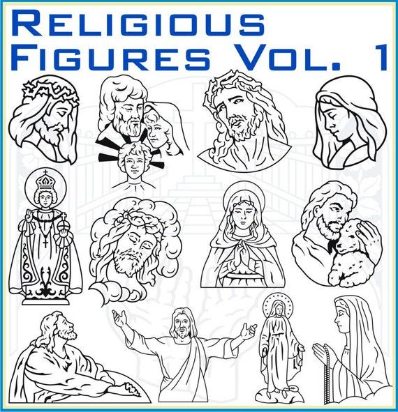 Religious Figures Vol. 1 Vector Clipart