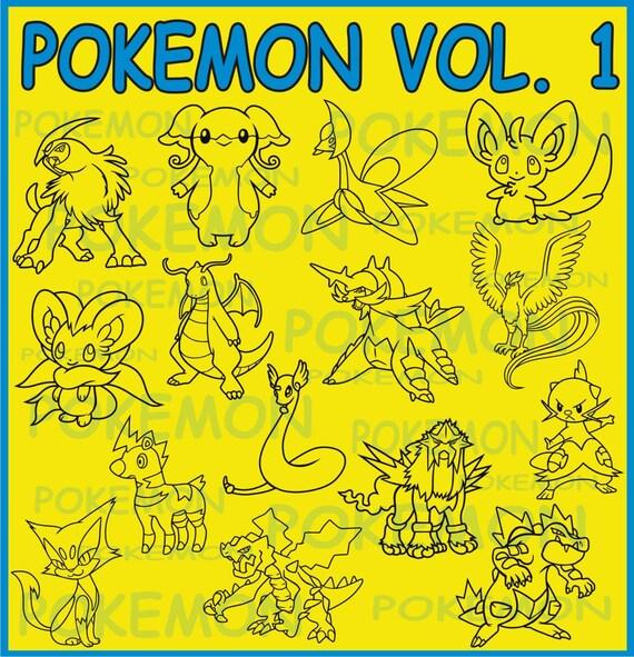 Pokemon Volume 1 Vector Clipart