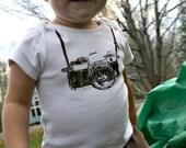 35mm camera onesie