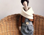 Custom Doll Made To Order Reserved For Alessandra