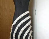 Custom listing for AunjaleesAttic - Swirls Of Ruffles Dress