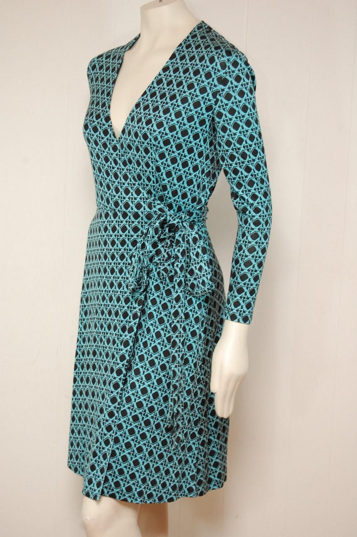 Vintage DVF Diane von Furstenberg Silk Wrap by VintageFashionUSA