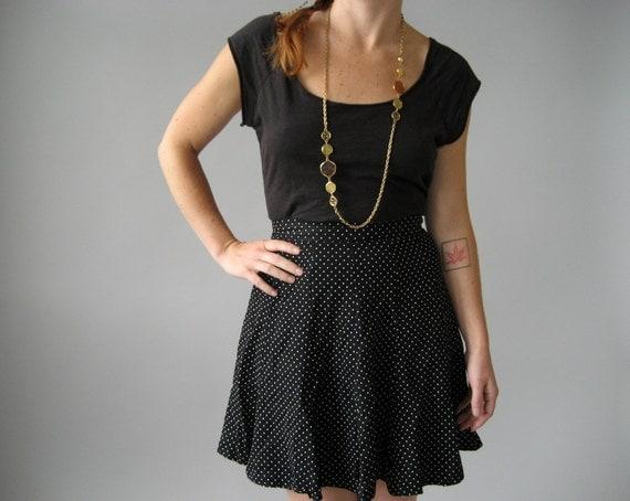 Polka Dot Skirt - S