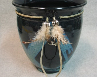 Juliano  Midnight Blue Charm Pot