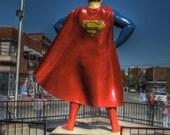 Superman photo, kids room, kids home decor, superhero, metropolis, child's room, Child home decor, Superman,fine art photography, Super hero