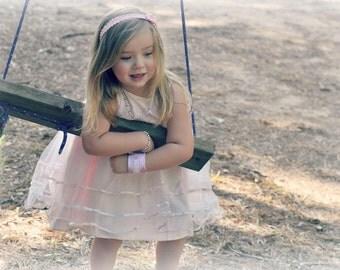 Kids Safety ID Medical Alert Bracelet Fabric Wristband Allergy Alert Band