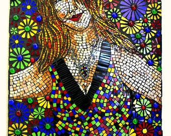 Stained Glass Mosaic Mural Wall Hanging