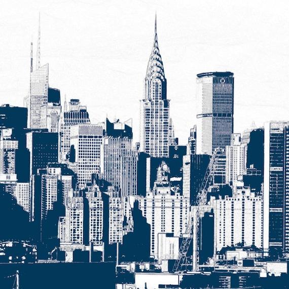 Items Similar To New York City Skyline