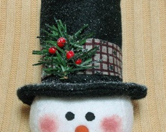 "Snowman pattern:  ""Winter is Tops"" - #461"