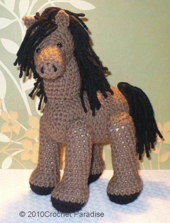 Free Crochet Pattern For Horse : Little Horse Crochet Pattern