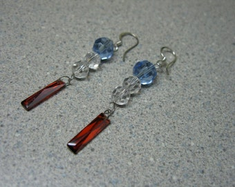 Swarovski Crystal  Dangle Earrings