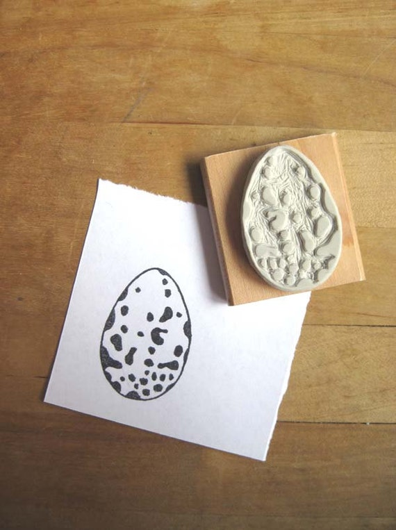 Robin's Egg - Hand-Carved Stamp
