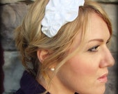 Pure White Flower Headband for Adult and Girl