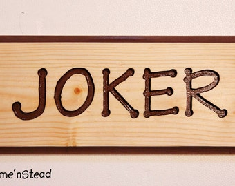 Customize Your Sign! Engraved Wood Name, Pet Animal Stall Name Signs Wood Dog House Plaque