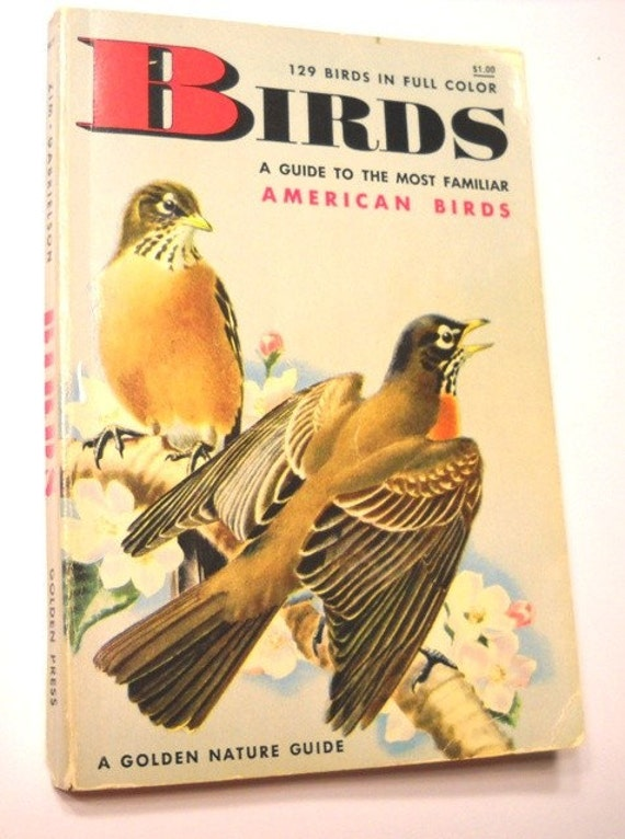 Book - Golden Nature Guide:  American Birds