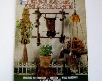 Macrame Owls Pattern Book - Knotting Craft Instruction Book - Macrame Hangers