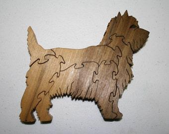 15% OFF Westie Dog Wood Puzzle Poplar