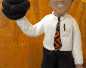 CUSTOM Polymer Clay Figurine